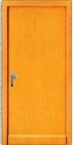 Modern formatervezésű bejárati ajtó